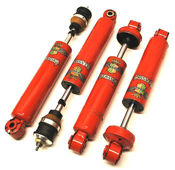 Suspension and dampers